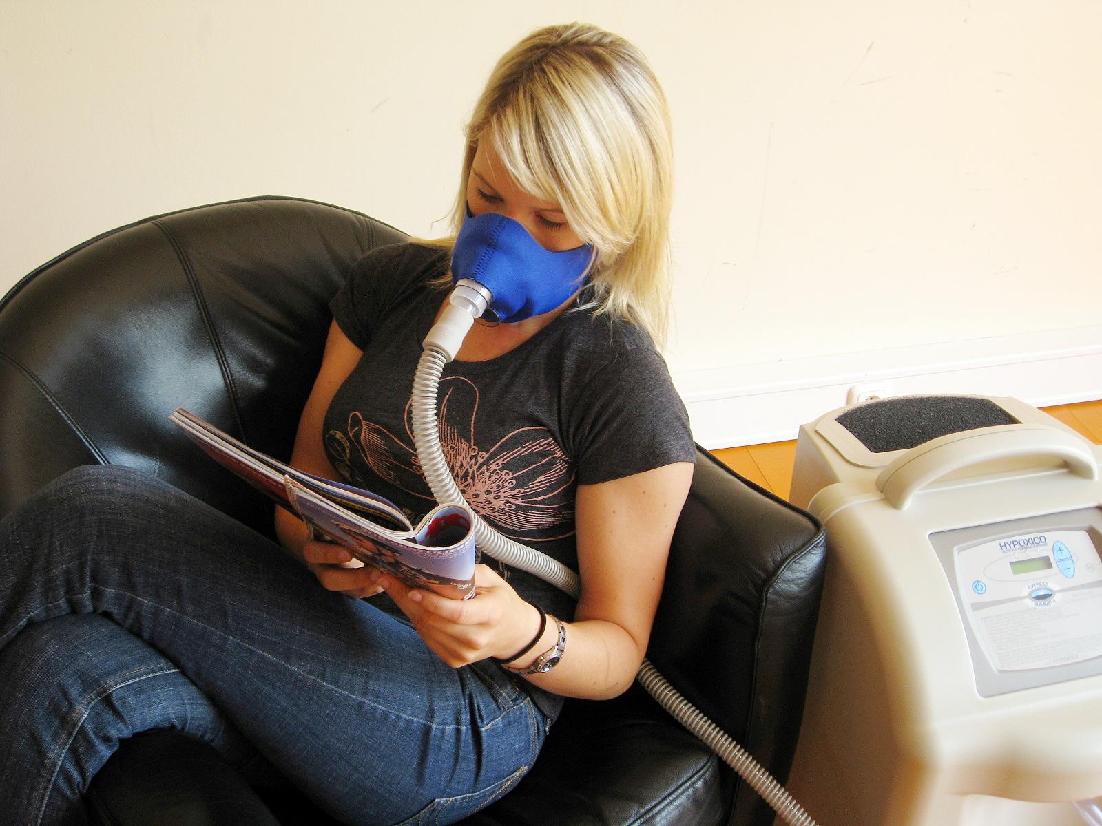 OXICO Höhentraining mit Generator und Maske