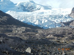 Nevado Chumpe von SW